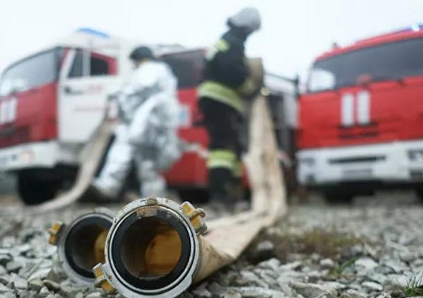 В Балашихе на предприятии по производству паркета ликвидировали пожар