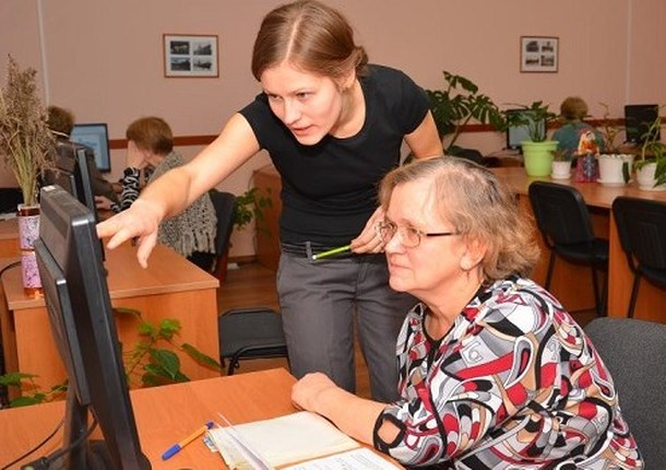 В Балашихе функционируют компьютерные курсы для пенсионеров